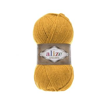 Пряжа Alize «Alpaca Royal», цвет 002 (шафран)